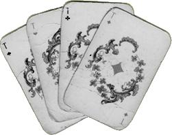 Gamla blackjack kort
