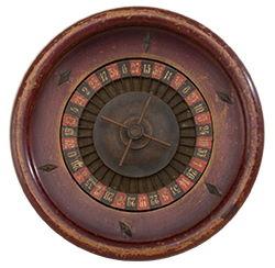 Gammalt roulettehjul